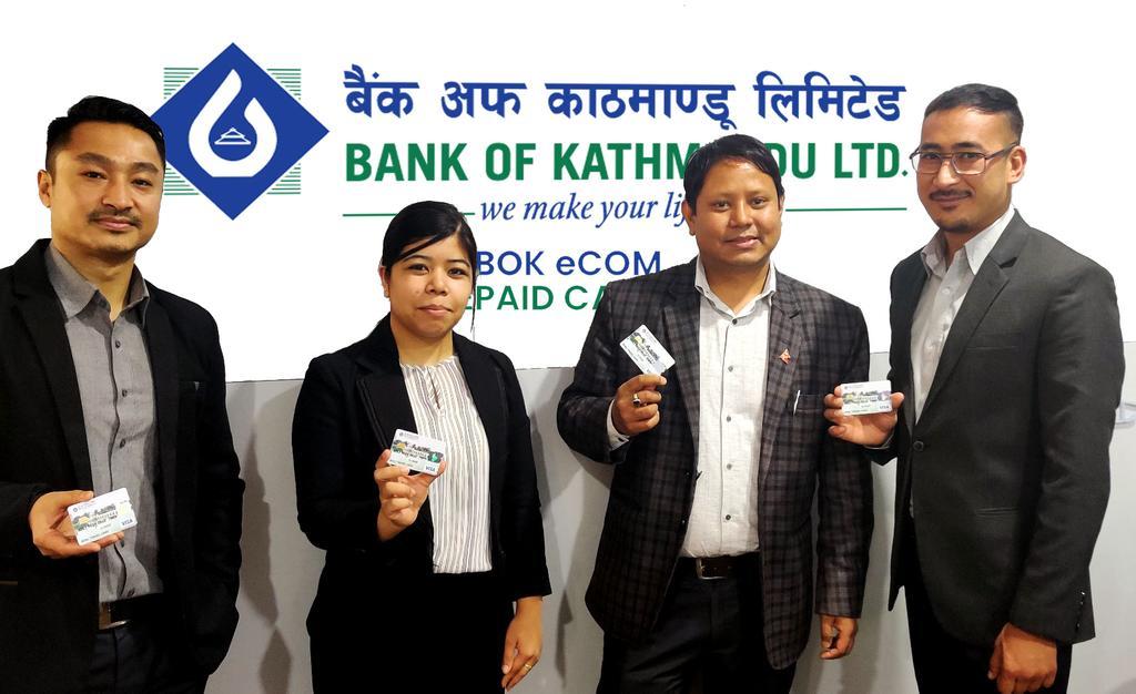 बैंक अफ काठमाण्डौले ल्यायो अन्तरास्ट्रिय भुक्तानी सेवा कार्यक्रम