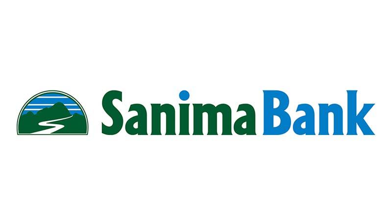सानिमा बैंकले अन्तरिक्ष प्रतिष्ठान नेपाललाई दियो ५ लाख सहयोग