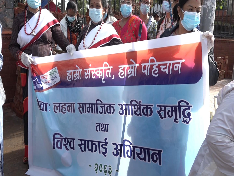 काठमाडौंको फोहोर आफैं सिसडोल पुर्याउन नागरिक अभियान सुरु