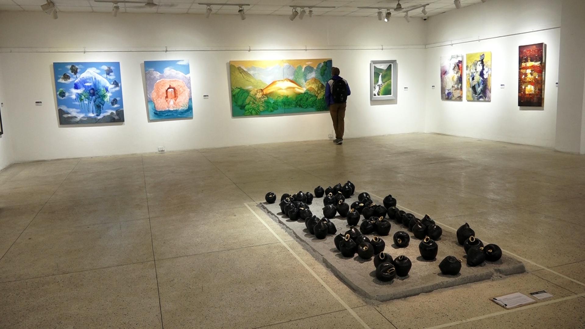 काठमाडौंमा चित्रकला प्रदर्शनी शुरु