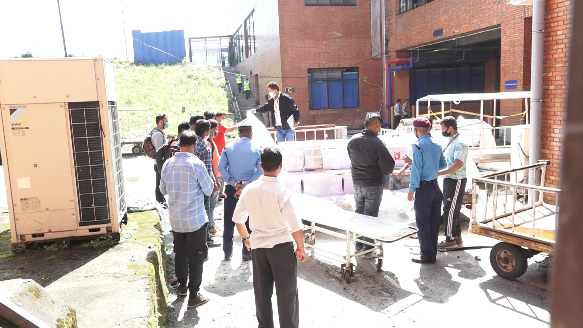 एकैदिन २१ शव नेपाल आइपुग्यो