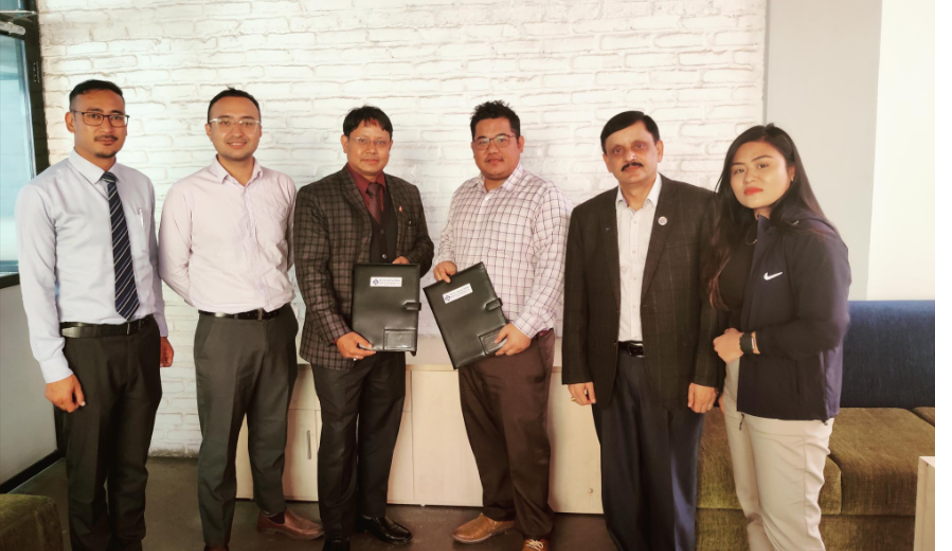 नेपाल पेमेन्ट सोलुसन्स र बैंक अफ काठमाडौँ बिच सम्झौता